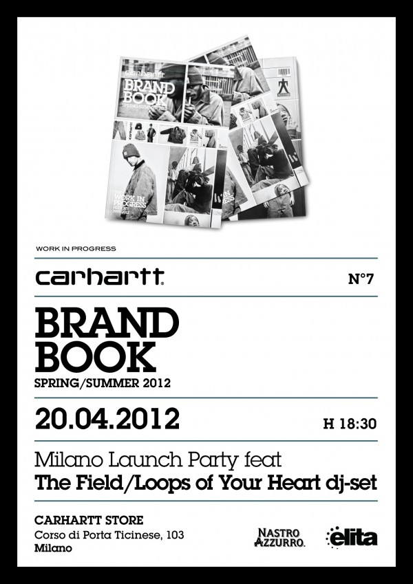 carhartt brand book launch party